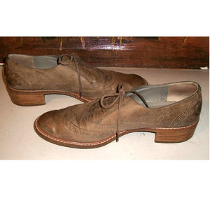 Paul Green Courtney Taupe Leather Oxfords